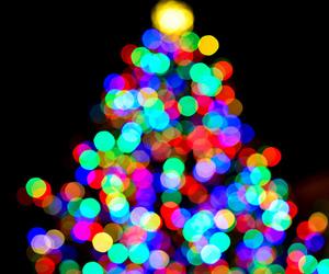 christmas and light image