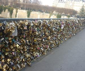 :), paris, and lock image