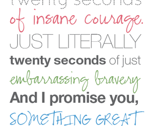 quote, courage, and text image