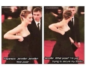 Jennifer Lawrence and funny image