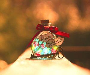 christmas, key, and liquid image