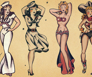 costume, illustration, and sailor jerry image
