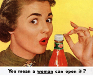 1950s, sexism, and advertisement image