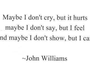 quote, cry, and care image
