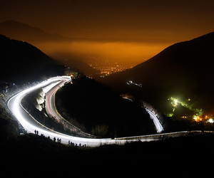 cars, lights, and roads image