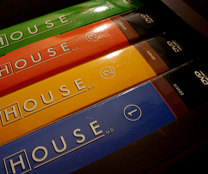 Dr. House, dvd, and house md image