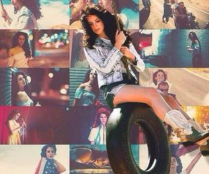 Collage, lana, and photo image