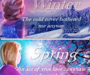 quote, frozen, and spring image