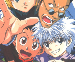 killua, gon, and hunterxhunter image