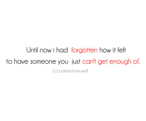 quotes and forget. typo image