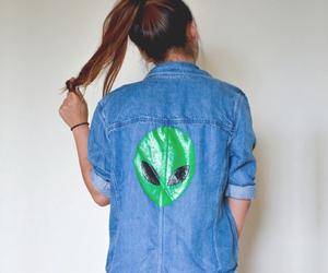alien, fashion, and grunge image
