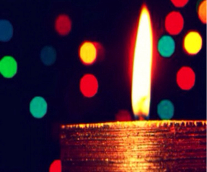 candle, light, and colors image