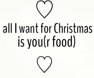 food, christmas, and love image
