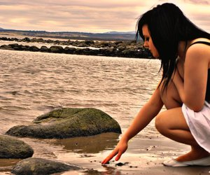 beach, holidays, and summer image