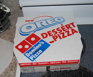 oreo, pizza, and food image