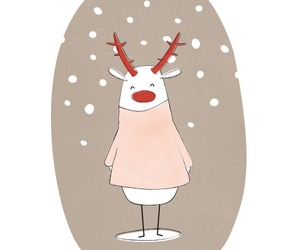 christmas and rudolf image