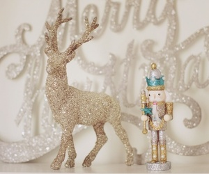 christmas, glitter, and nutcracker image