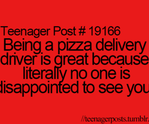 pizza, teenager post, and funny image