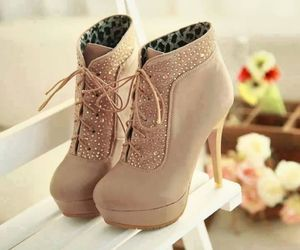 high heels, nice, and shoes image