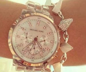 bracelet, luxury, and Michael Kors image