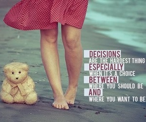 decisions, choice, and life image