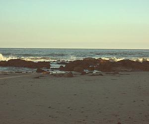 beautiful, rocks, and sand image