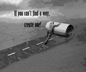 quotes, way, and create image