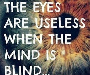 quotes, eyes, and mind image