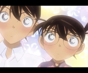 detective conan and shinichi kudo image