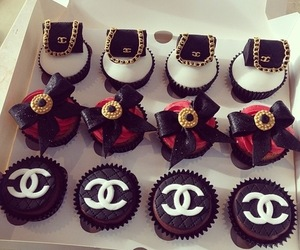 cake, cute, and chanel image