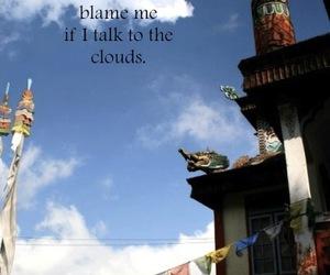 clouds, india, and thoreau image
