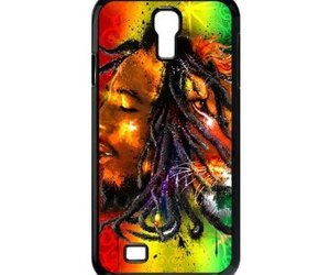 bob marley, case, and lion image
