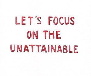 focus, quote, and marc johns image