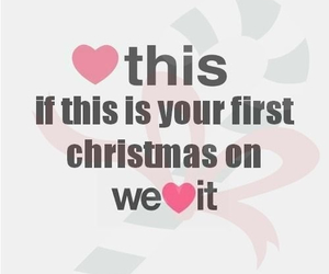 christmas, heart, and we heart it image