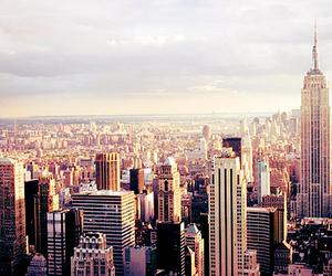 city, new york, and ny image