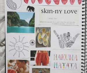 hakuna matata, notebook, and tumblr image
