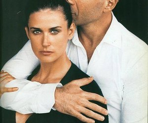 Demi Moore and bruce willis image