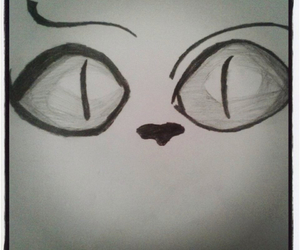 drawing, cute, and eyes image