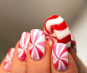 candy, festive, and white image