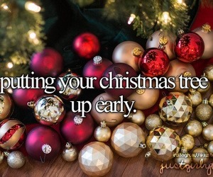 christmas, tree, and just girly things image