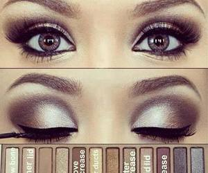 beauty, naked palette, and eyes image