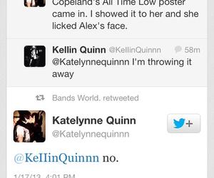 kellin quinn, sleeping with sirens, and katelynne quinn image
