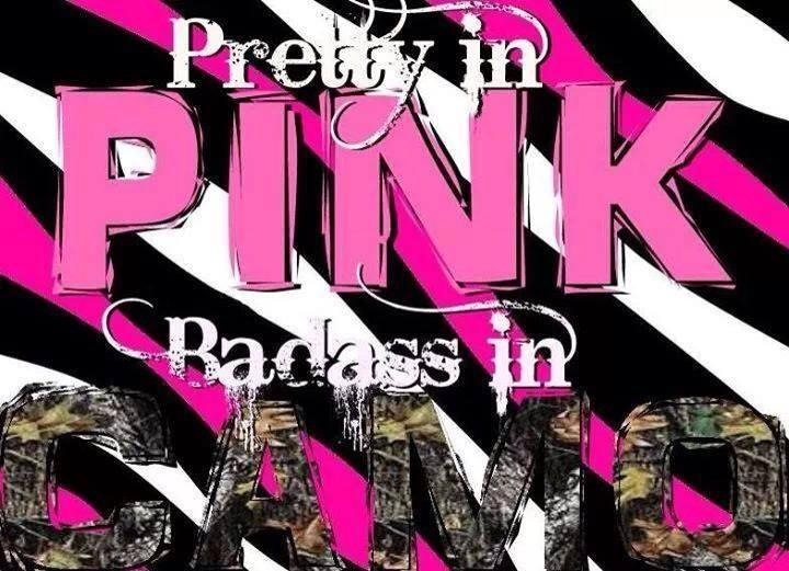 Pink camo shared by Kaylee? on We Heart It