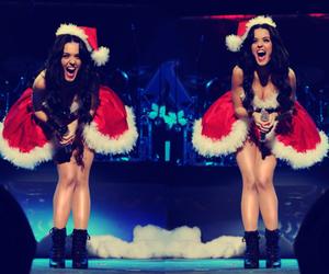 katy perry, christmas, and sexy image