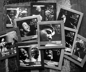 ella fitzgerald, frank sinatra, and jazz image