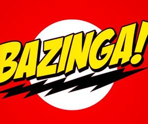 bazinga, the big bang theory, and sheldon image