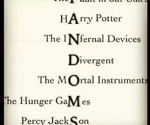 fandom, divergent, and harry potter image
