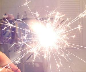 light, fireworks, and sparkle image