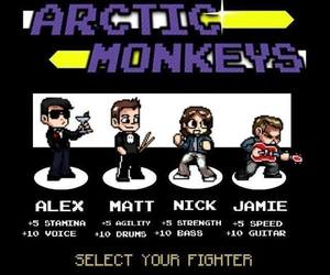 arctic monkeys, game, and jamie image