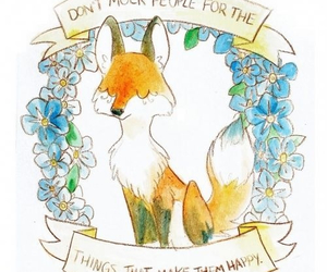 fox, quote, and happy image